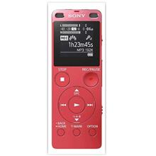 SONY 4GB & TF/M2 CARD SLOT DIGITAL VOICE RECORDER (ICD-UX560F) RED