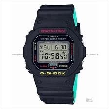 CASIO DW-5600CMB-1 G-SHOCK digital 35th Anniv Rasta Reggae colour SC