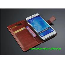 Samsung Galaxy J5 J7 2015 Flip Leather Stand Case Cover Casing + Gift