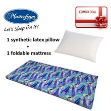 Mastefoam Mattress + Pillow Combo - Free Delivery by courier