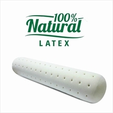 Genuine 100% pure MOULDED latex Baby bolster Free inner cover