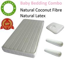 Premium Gift for Newborn Baby - Certified Natural Mattress combo set