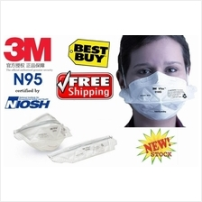 Free Delivery Deal! 3 pieces 3M N95 Anti haze Mask™ 9105 Topeng Jerebu