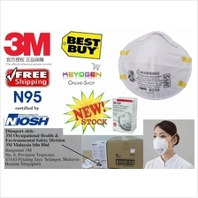 Free shipping Deal! 40 pieces w/ carton genuine 3M N95 Anti Haze Mask