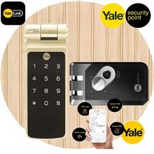 Yale YDR41 Fingerprints Jimmy Proof Door Lock with Blutooth Link