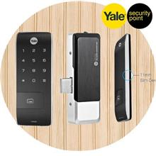 Yale YDR30G Card Access Pin Code Slim Digital Gate Lock with Remote