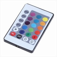 24 KEY IR REMOTE CONTROLLER FOR LED RGB STRIP LAMP (WHITE)