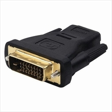 DVI Male to HDMI Female Adapter Monitor Converter