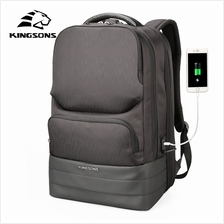 New 2018 Kingsons Laptop 15.6 inch Backpack Men Multifunction Waterpro