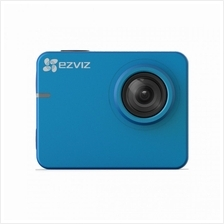 EZVIZ S2 Waterproof Full HD 1080p video recording up to 60 fps (BLUE)