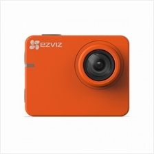 EZVIZ S2 Waterproof Full HD 1080p video recording up to 60 fp (ORANGE)