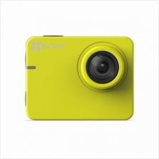 EZVIZ S2 Waterproof Full HD 1080p video recording up to 60 fp (YELLOW)