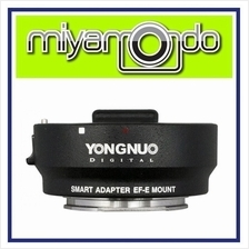 Yongnuo Smart Adapter EF-E Mount For Canon EF Lens to Sony NEX E Mount