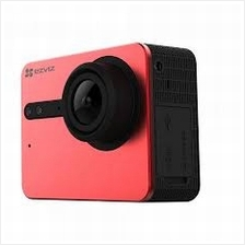 EZVIZ S5 4K SuperView Waterproof Sport Action Camera (RED)