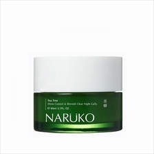 NARUKO Tea Tree Shine Control Blemish Clear Night Gelly)