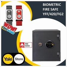 Yale YFF/420/FG2 Biometric Fingerprints Fireproof Safe