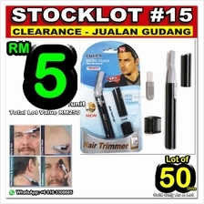 LOT# 15 STOCK CLEARANCE 50 units Men Micro Touch Max Personal Hair Tri