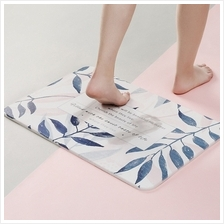 Diatomaceous Earth Mat Bathroom Water Absorption Quick Drying Pad
