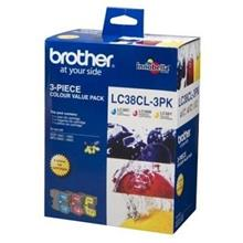 Brother LC-38CL3PK Value Pack (C/M/Y)
