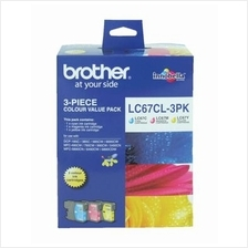 Brother LC-67CL3PK Value Pack C/M/Y