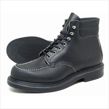 Work Boots Red Wing Lifestyle 6Inch Black Super Sole 8133 FOC Del GST