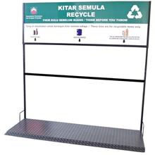 Signage For Recycle Bin Set of 3 in 1 BP240 FOC Delivery Klang Valley