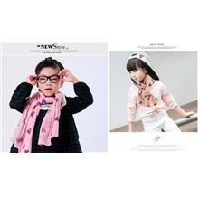 Children Mickey Cartoon Warm Cotton Scarf