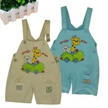 Fashion Kids/Children Clothing-Baby Giraffe Drive Jumpsuits
