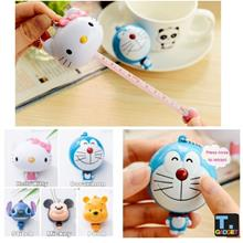 1m Tape Measure Cute Mini Cartoon Animal Automatic Retractable Ruler