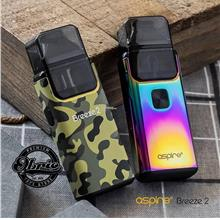ORIGINAL Aspire Breeze 2 AIO Portable MTL Vape kit Liqua