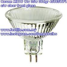 3 x Osram 45865WFL MR16 12v 35w 36dgr Long Life (made in G'many)