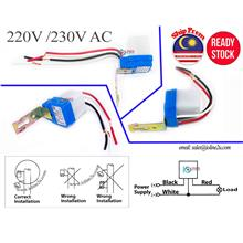 2* 230V AC Automatic Day OFF Night ON Light Switch Photo Sensor Outdoor Waterp