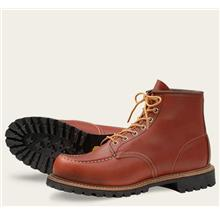 Work Boot Red Wing 6In Classic Moc Toe Oro Russet Portage 8175 FOC Del