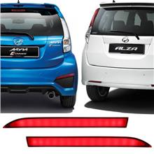 PERODUA MYVI ICON Hight Spec Sequential Blinking Bumper LED Light