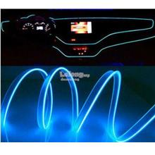 Sound activated fiber optic LED ambient light for Honda Toyota cars