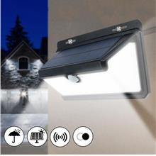 100 LED Waterproof Solar Powered Light 3 Modes PIR Motion Sensor Wall