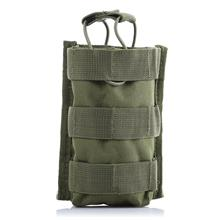 M4 OUTDOOR HIKING CAMPING MOLLE WAIST PACK INTERPHONE CASE