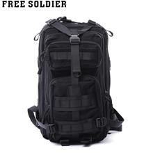 OUTDOOR NYLON BAG CAMPING   HIKING   MOUNTAIN   CLIMBING   BACKPACK (BLACK) 23d6af2aa6a79
