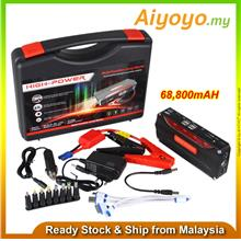 68800mAH Jump Start Car Power Bank Starter Battery Emergency Parking Light Mob