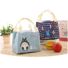 Thermal Insulated Cooler Bento Lunch Picnic Bag