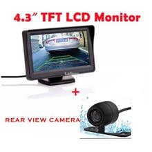 "4.3""Inch LCD Auto Parking System WITH NightVision Car Rear View CAMERA"