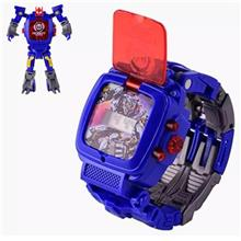 2in1 Robot Watch for Kids Toys Watch Robot Transforming Robot Watch