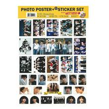 KPOP IDOL 12 POSTER + 1 sticker #BTS