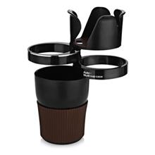 AUTO UNIVERSAL MULTIFUNCTIONAL HOLDER CUP PHONE SUNGLASSES (BLACK)