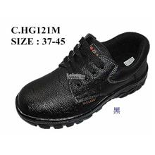 Safety Shoes [ PVC with Metal Toe Cap and Midplate ] Design B