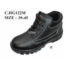 Safety Shoes [ PVC with Metal Toe Cap and Midplate ] Design C