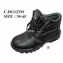 Safety Shoes [ PVC with Metal Toe Cap and Midplate ] Design D