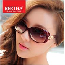Bertha Brand Large Frame Ladies Fashion Polarized Sunglasses