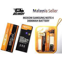 MOXOM Phone Battery Samsung Galaxy Note 4 3000mAh High Capacity