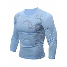 BREATHABLE TATTOO T-SHIRT (BLUE)